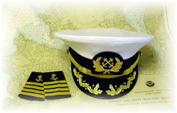 Captain's Hat and Epaulets.